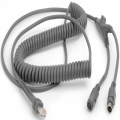 CBA-K06-C12PAR - Zebra PS/2 Cable - Keyboard Wedge