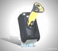 8028-SVM Zebra DS3400 scanner holster for on-wheelchair use - Quass